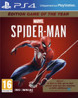 Jeu Marvel's Spider-Man - Édition Game of the Year sur PS4