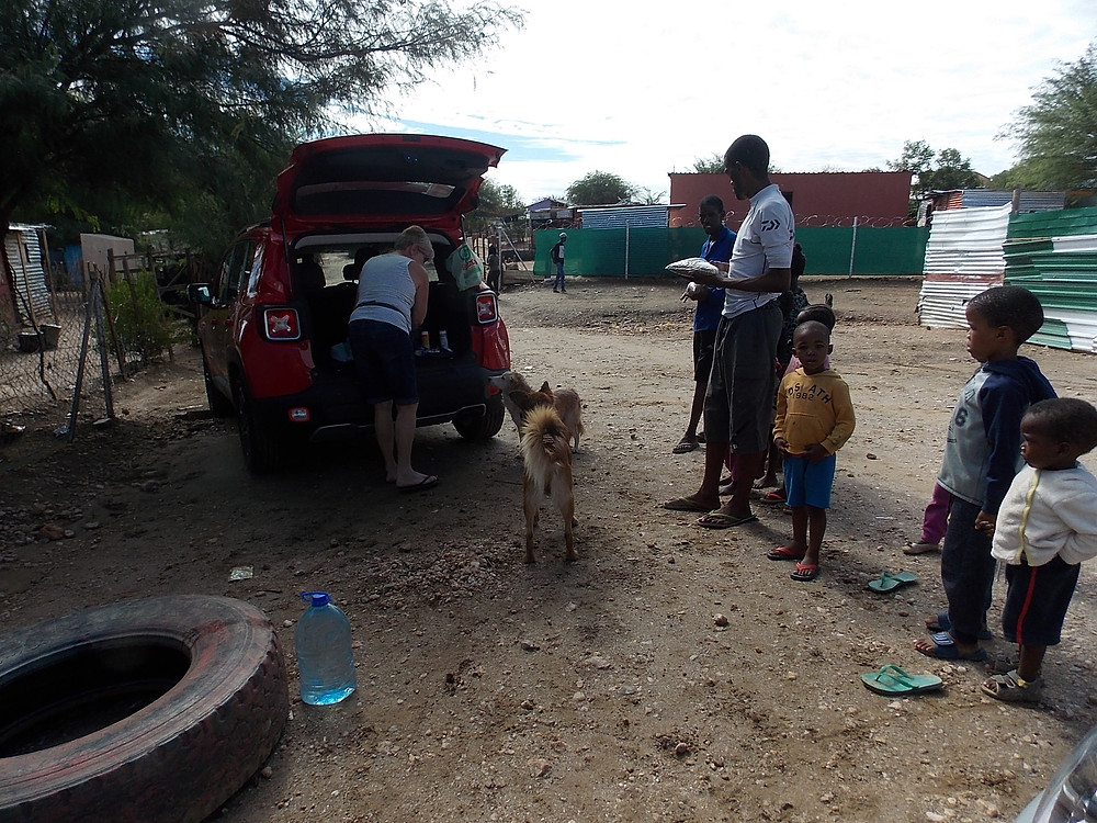 February food distribution in Katutura