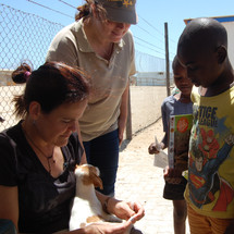 At the Have a Heart-Namibia cilnic