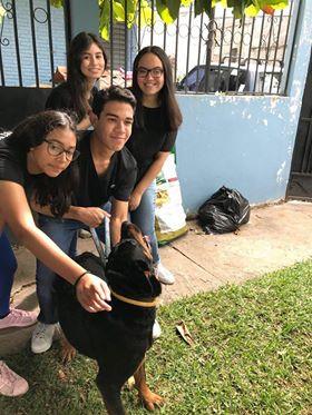 Del Campo students