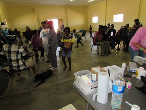 People and their pets at the HAH Bethanie spayathon, May 2016