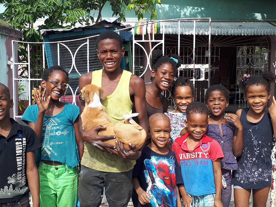 April 1 kids and their dog-spayed by D.jpg