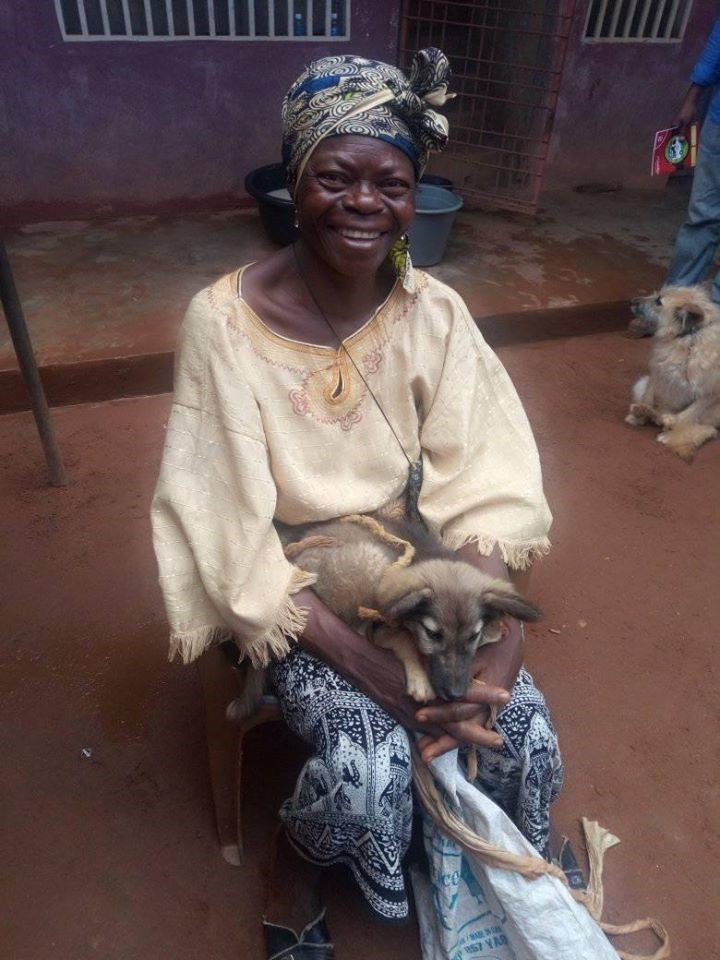One of OIPA-Cameroon's clients