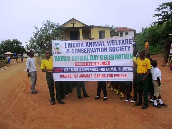 World Animal Day parade