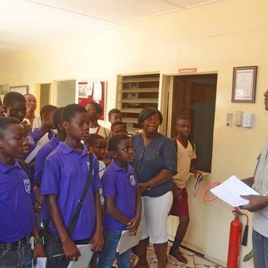 Field trip La clinic Kwabenya 4&5 School in  OPD  (1).JPG