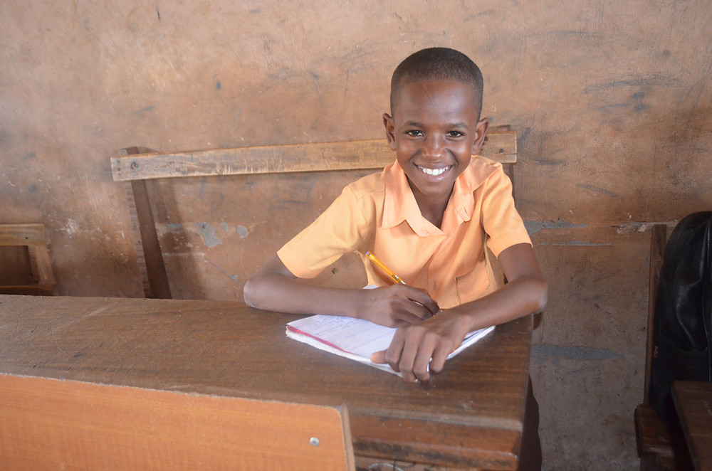 Amrahia Basic School student is confident in his answers!