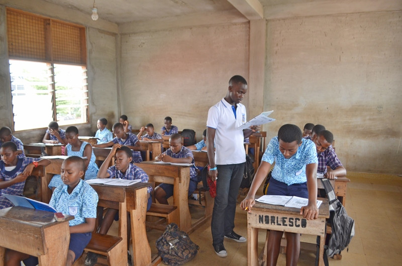 Each HE student gets a book to keep