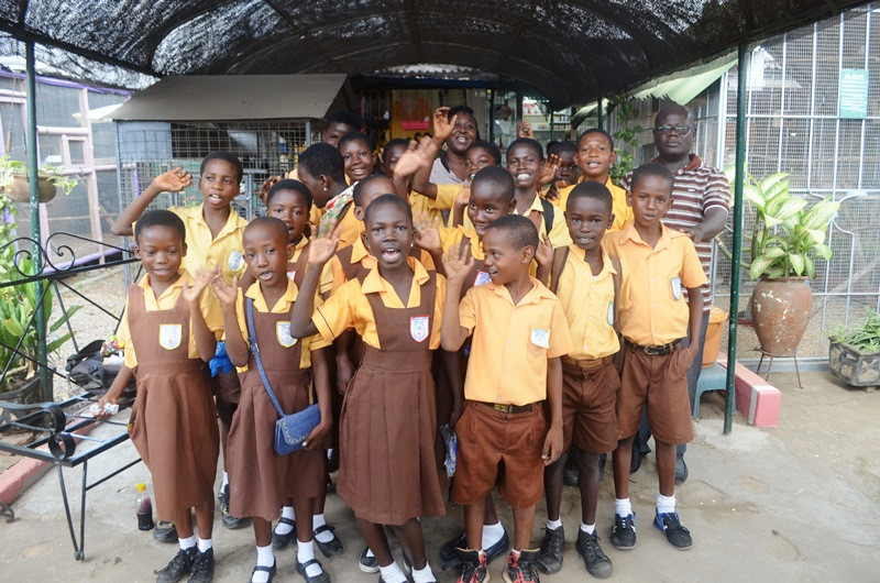Village Pets and Gardens dzorwulu Amrahia school group 8.JPG