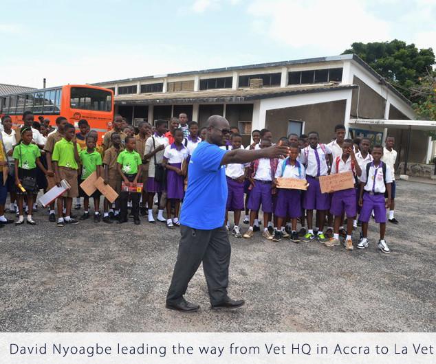 Field Trip-Vet HQ in Accra