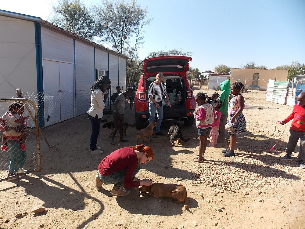 July visit Katutura-some of the Katutura Project's clients