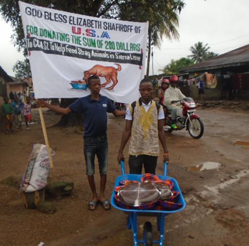 In Sierra Leone, 1 + 1 = 100