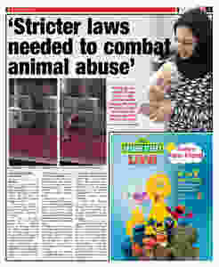 Fathiya raises awareness of the needs of animals in Bahrain