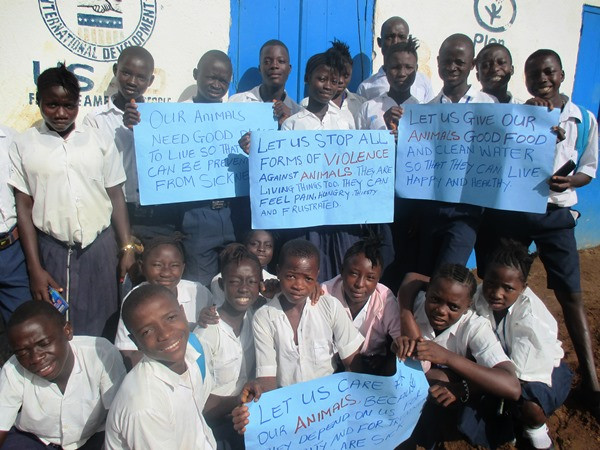 Student-led community awareness raising campaign