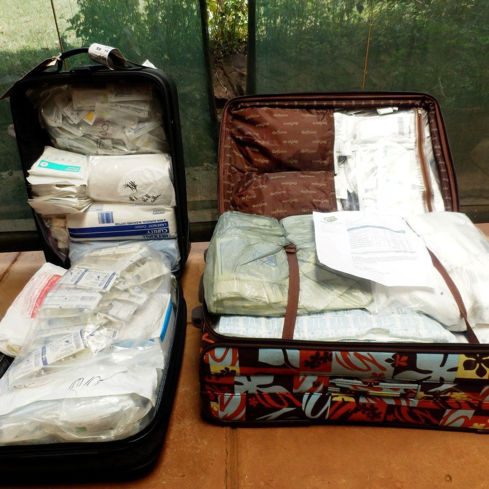 Project VETS supplies arrive in Nairobi