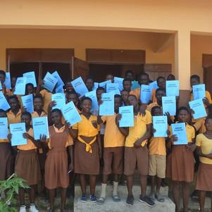 24 June HE pupils of Awaah JHS in the Bo
