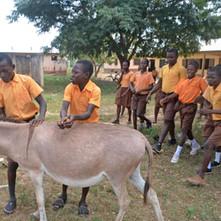 Upper East region Nyariga HE students