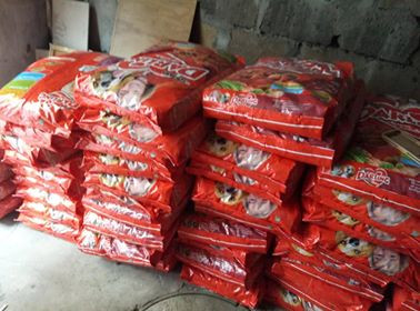 Dry food will feed SAA shelter dogs for one month