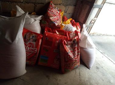 Dog food purchased with AKI funds
