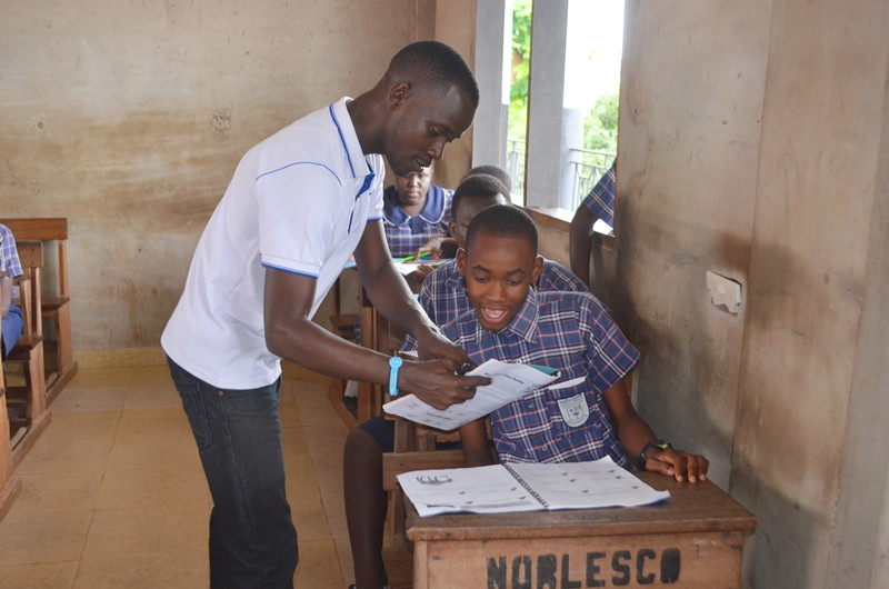 North Legon HE student loves learning about animals!