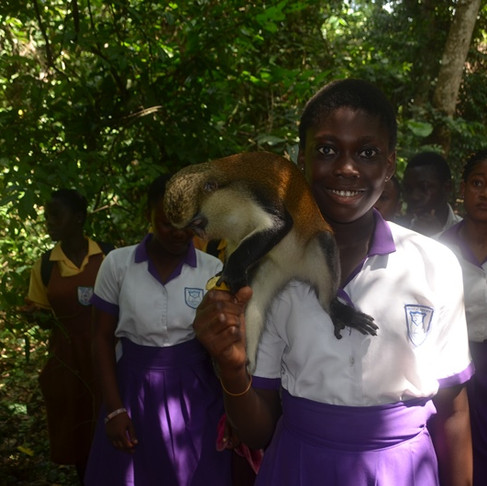 Ghana SPCA Goes on Field Trips!