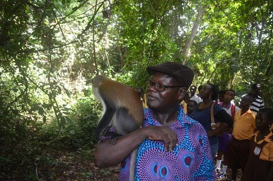 Tafi Atome with monkey and David 2.JPG