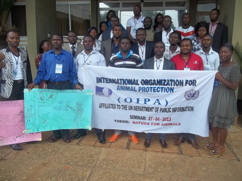 Participants in OIPA-Cameroon's 1st seminar