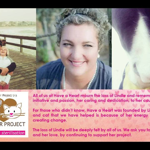 AKI & Have A Heart-Namibia: Honoring Lindie's Memory