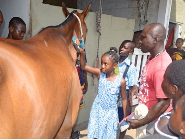 GSPCA visits Accra Polo Club