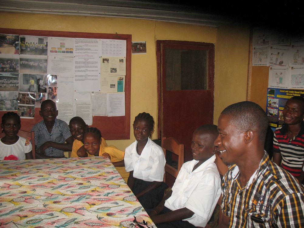 HE students visit LAWCS