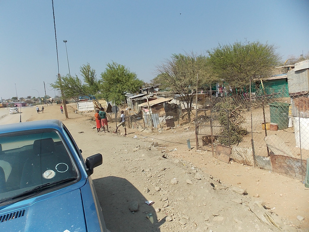 A community where we work in Katutura