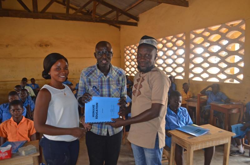 Upper East teachers Mohammed & Henrietta
