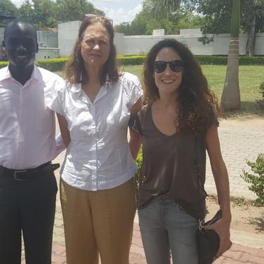 3 members of our South Sudan s/n team