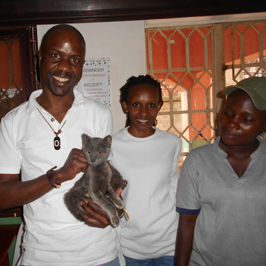 This family went home with a new kitty!