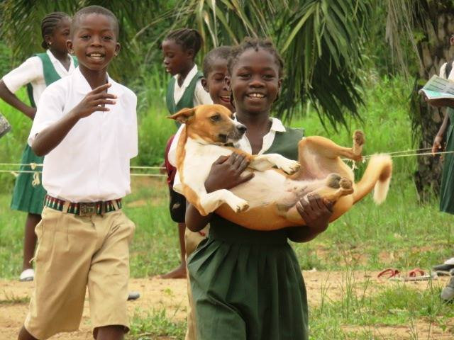 Student-led parade for animals