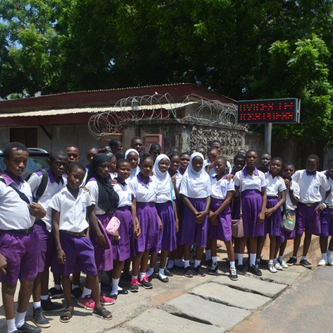 LEMLA visit with Trust Academy-full grou