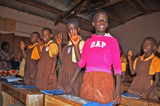 Pupils always recite Kindness club Pledge before lessons  (1).JPG