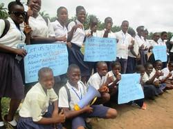 Student led awareness raising