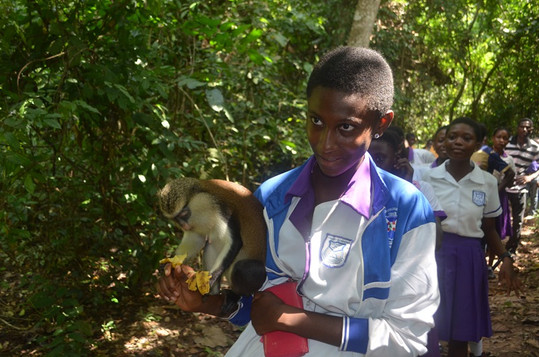 Tafi Atome with monkey 4.JPG