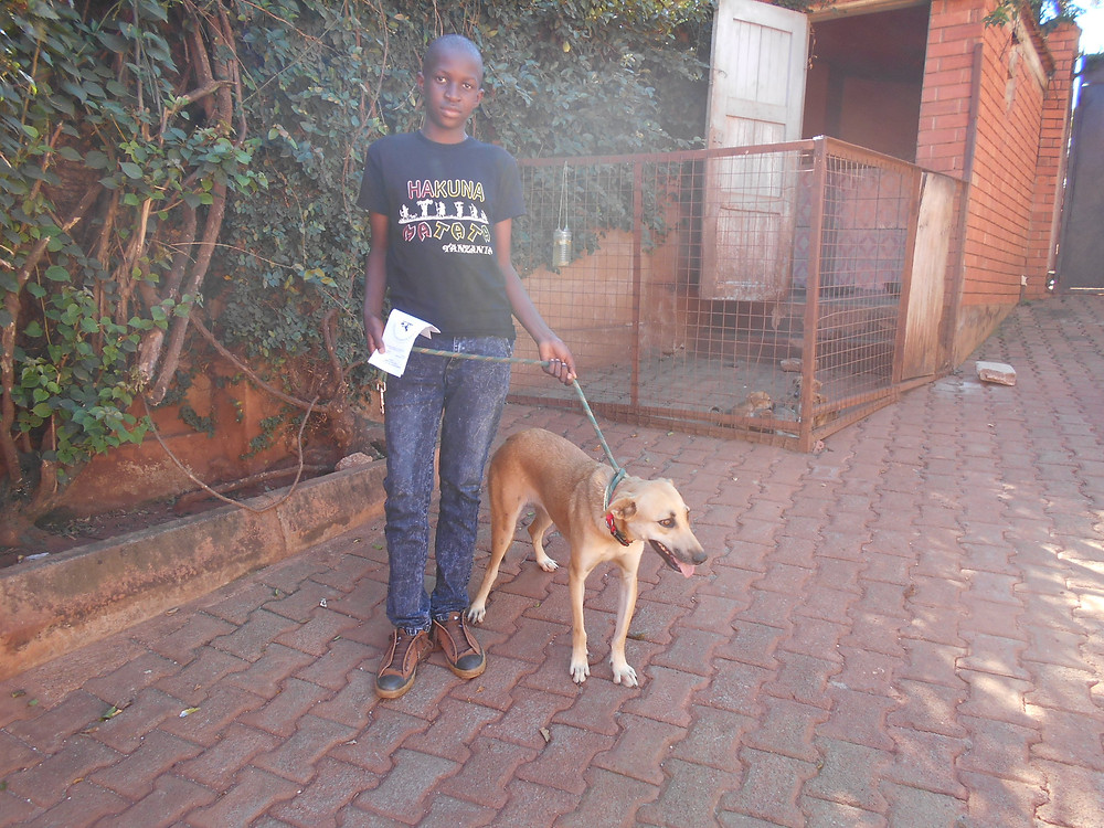 Castro and his family adopted Lulu