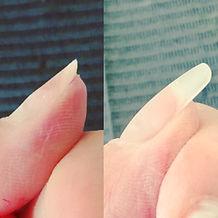 薄い爪補強 nail221b 厚みだし