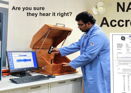Microphones and Sound Level Meter Calibration Services at SSPL