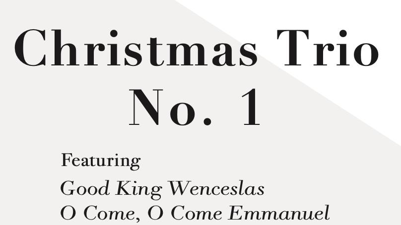 Christmas Trio No. 1