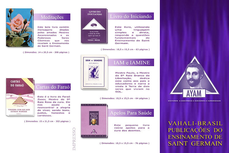 Livros Vahali-Brasil