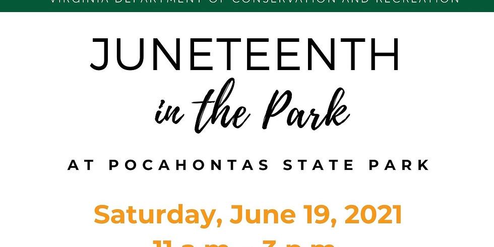 Camp 7 Hike at Pocahontas State Park
