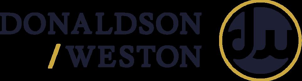 DonaldsonWeston_IconWordmarkRight.png