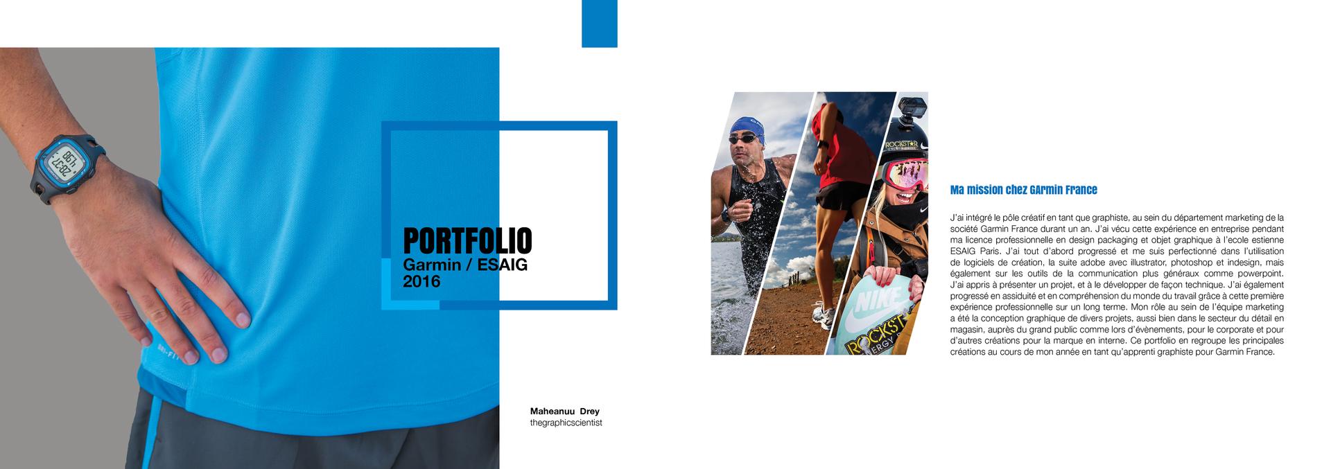 Portfolio - Garmin page 1