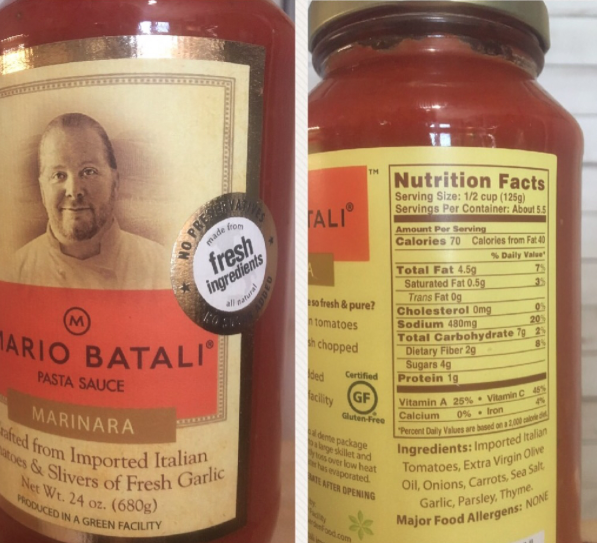 Mario Batali Sauce