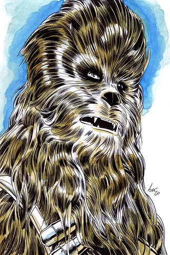 Chewbacca Original Art