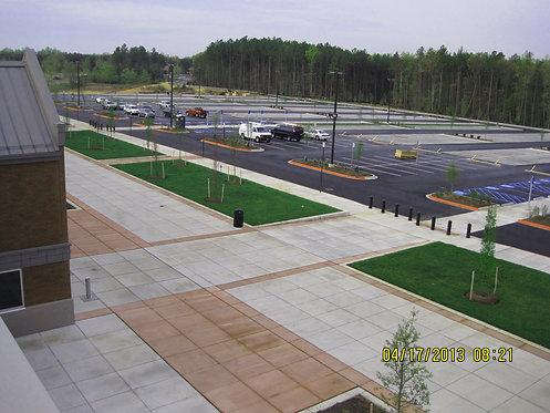 Porous Pavement Parking & Regional Detention, Fort Belvoir, VA
