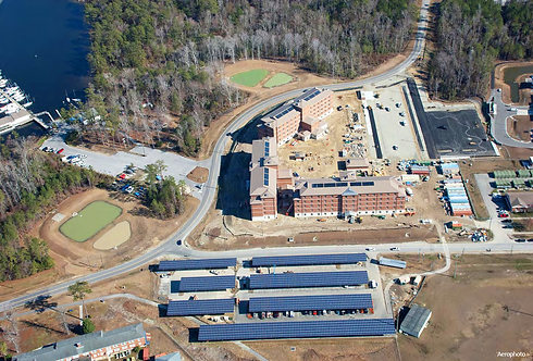 LEED Silver 11 BEQ Development, MCB Camp LeJeune, NC